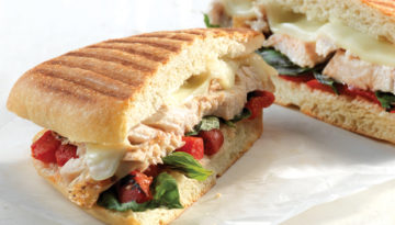 Grilled Turkey Panini
