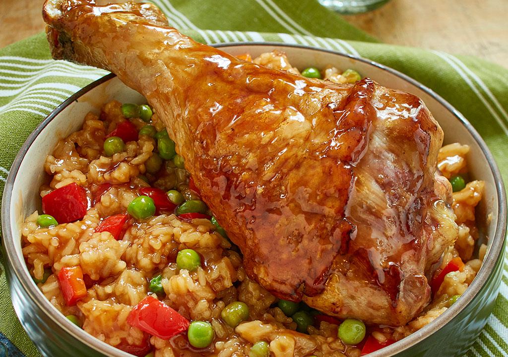 Honey Garlic Turkey