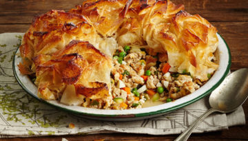 Moroccan Turkey & Vegetable Pot Pie