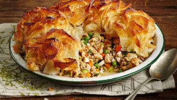 Moroccan Turkey & Vegetable Pot Pie