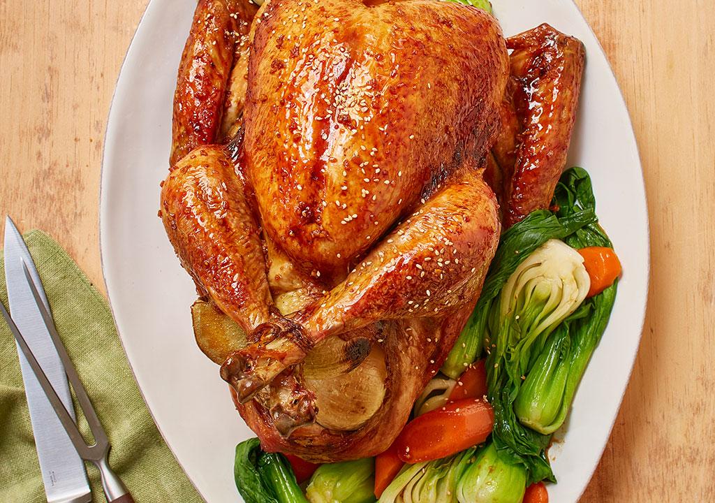 Sesame Soy Turkey