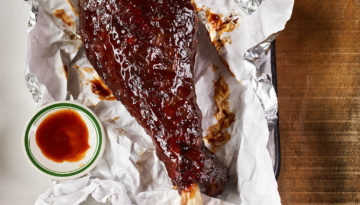 Smoked Turkey Drumsticks & Chocolate Chili BBQ Sauce