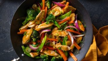 Apricot Stir Fry Turkey