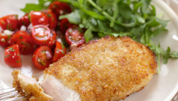 Citrusy Quinoa Coated Turkey Fillets