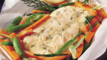 Dilled Turkey Papiotte