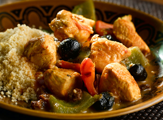 Moroccan Turkey with Couscous
