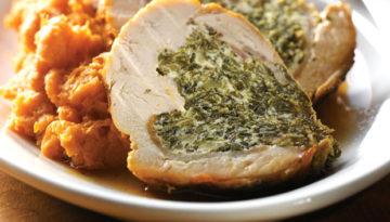 Spinach & Ricotta Stuffed Turkey Breast