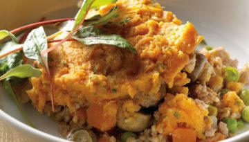 Sweet Potato & Turkey Shepherd's Pie