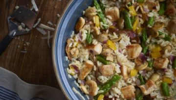 Turkey Vegetable Risotto