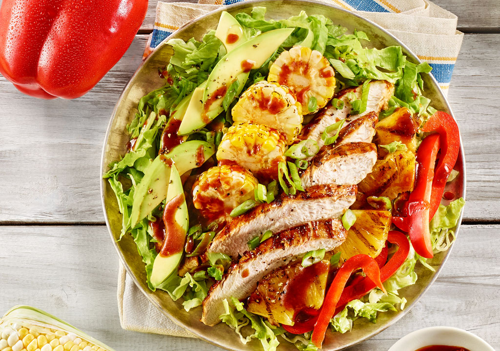 California Grilled Turkey Chef's Salad