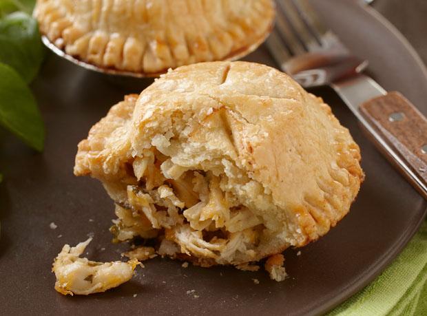 Apple, Cheddar & Turkey Hand Pies