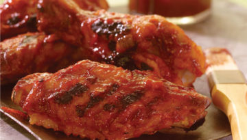 BBQ Turkey Wings & Drumsticks