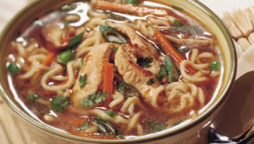 Hot & Sour Turkey Noodle Soup