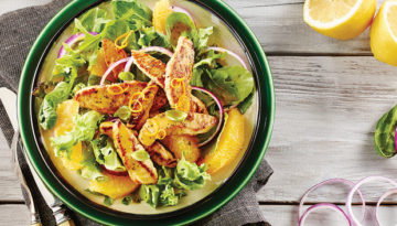 Orange Poppy Seed Turkey Salad