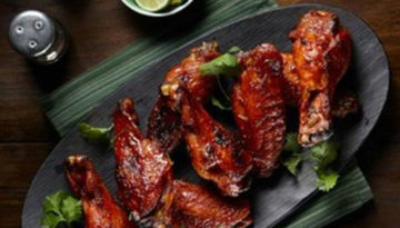 Saucy Turkey Wings