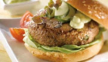 Teriyaki Turkey Burgers