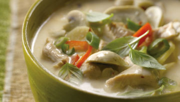 Thai Coconut Turkey Soup