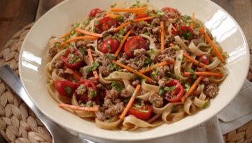 Turkey & Fresh Cilantro Noodle Salad