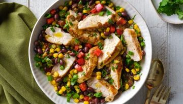 Turkey Black Bean Salad