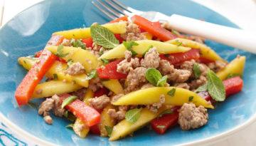 Turkey Mango Salad