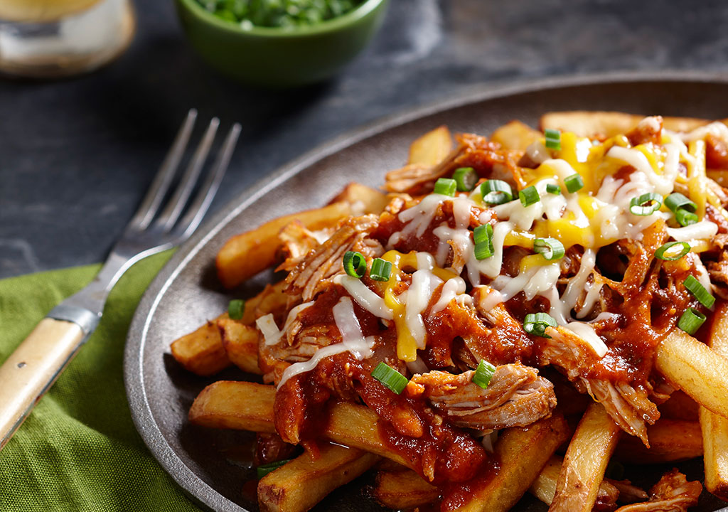 Pulled Turkey Poutine