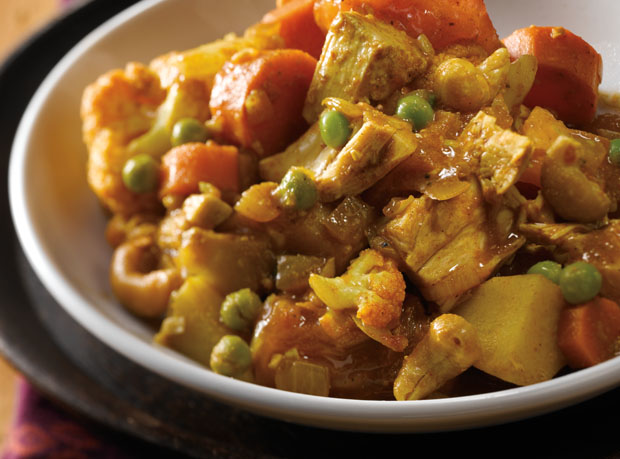 Vegetable Turkey Curry