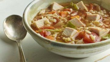 Turkey Tomato Alphabet Soup