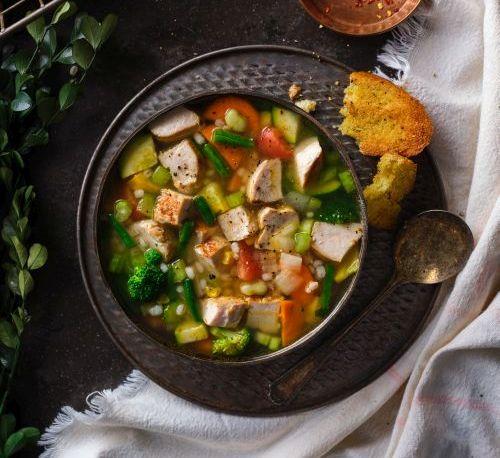 Turkey Vegetable Soup