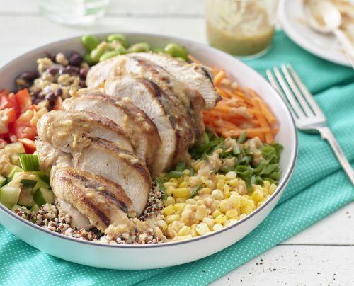 Turkey and Quinoa Protein Bowl