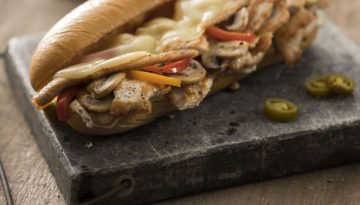 Turkey Philly Cheesesteak TN