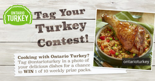Tag your turkey contest