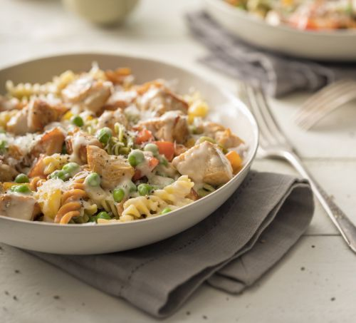 One-Pot Turkey Alfredo