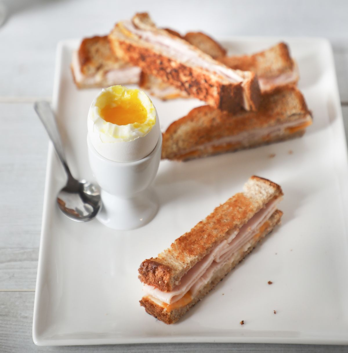 Cheese and Turkey Egg Dippers