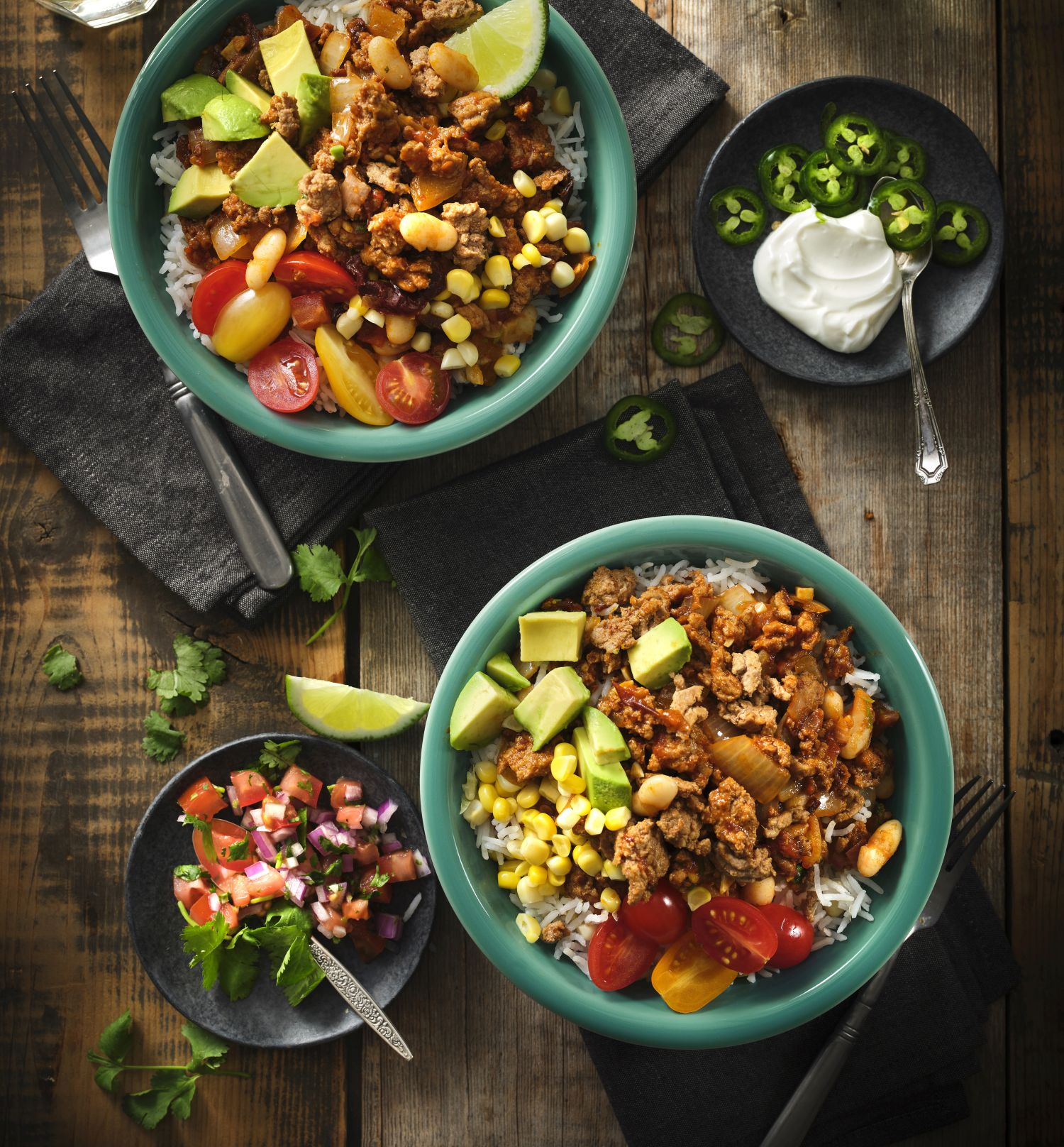 Skillet Chipotle Turkey Burrito Bowl