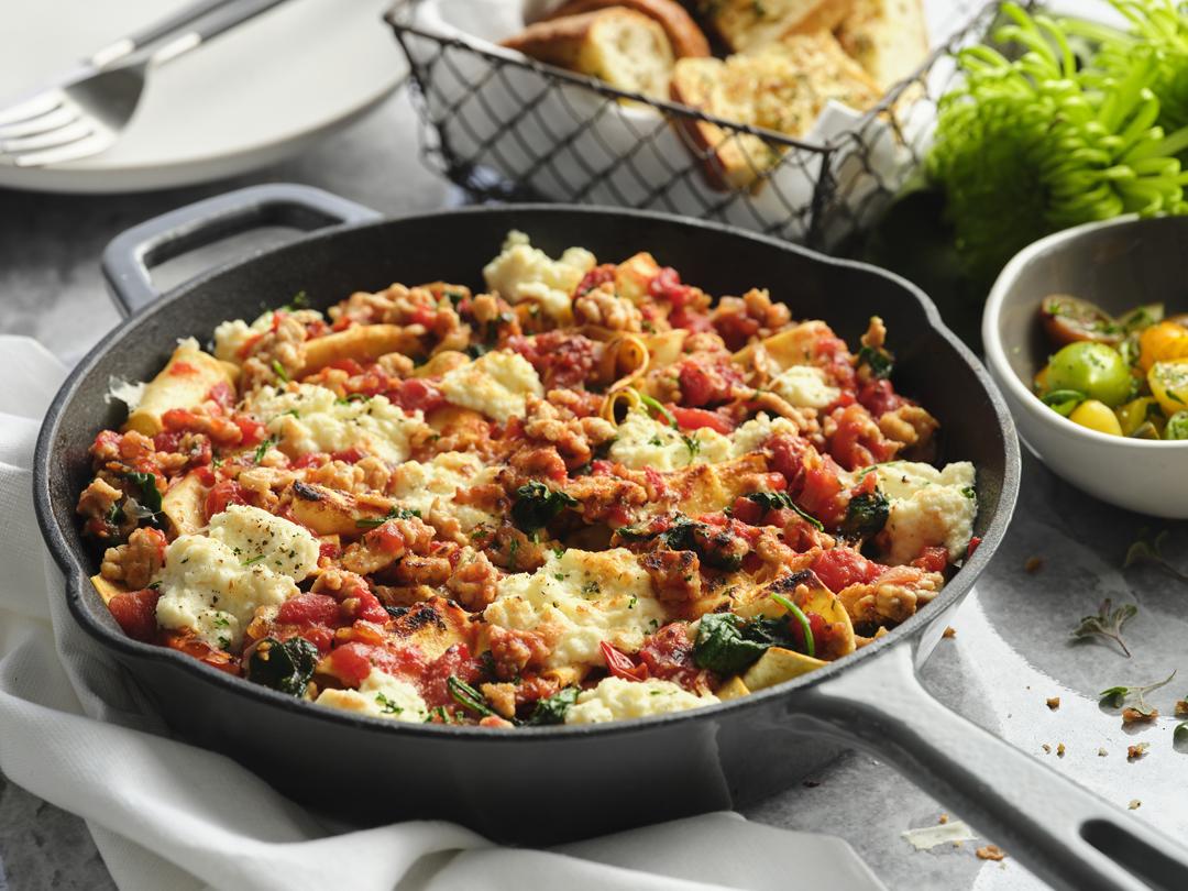 Turkey Skillet Lasagna-201102-2966